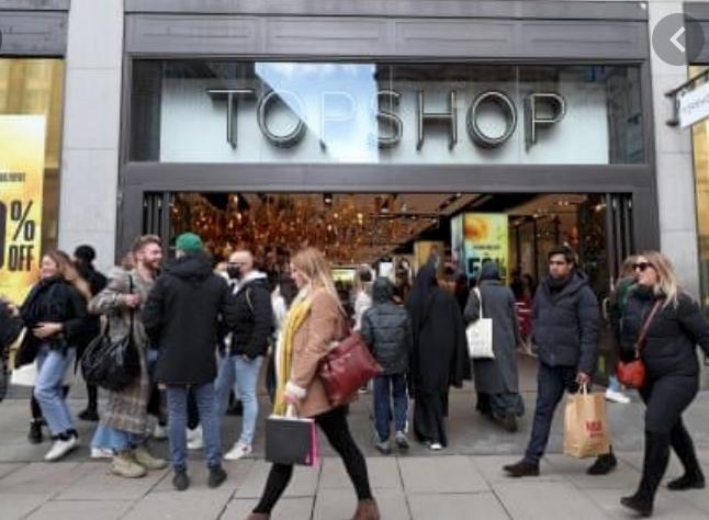 Top shop flagship store London