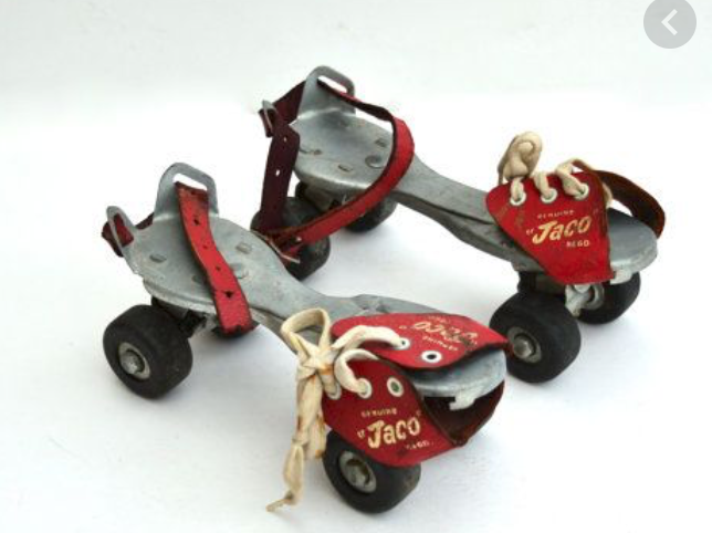 Wagon Wheels and clip on roller skates