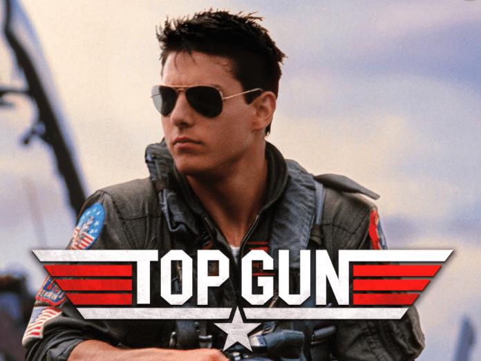 Tom Cruise film poster for Top Gun