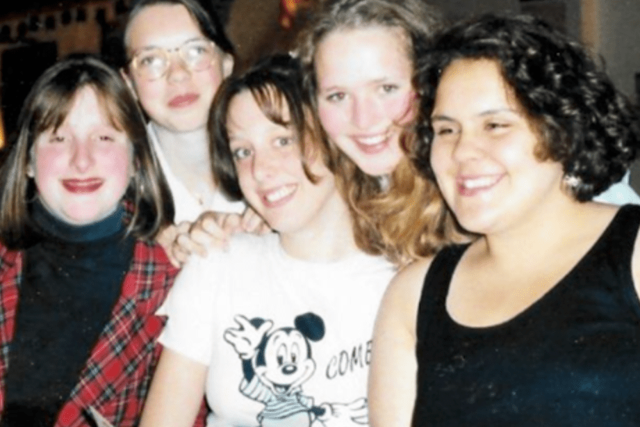 group of girls friends that have been friends for years