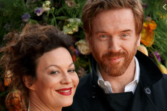 Actors Helen McCrory and Damien Lewis