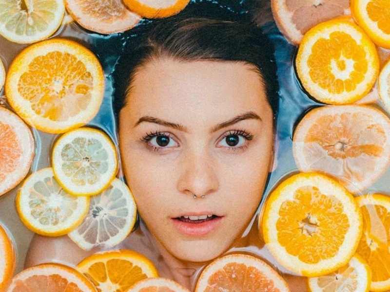 topical vitamin c skincare against ageing