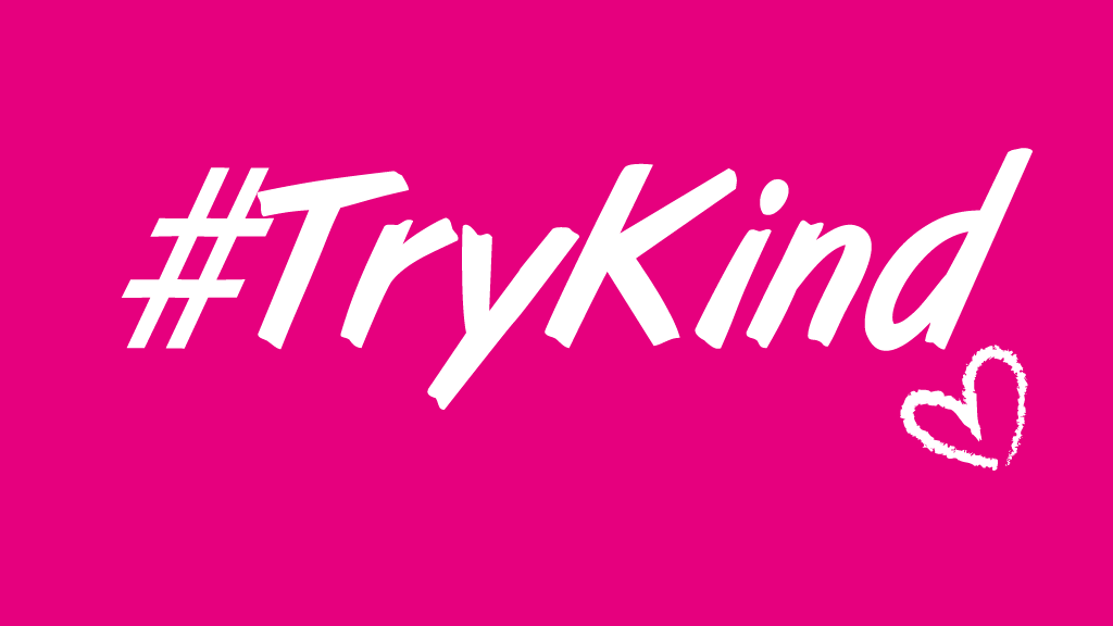 try kind hashtag