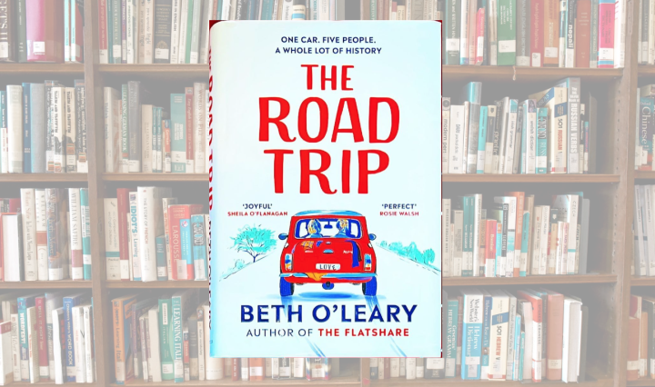 The Road Trip by Beth O'Leary book cover