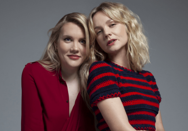 emerald Fennell and Carey Mulligan