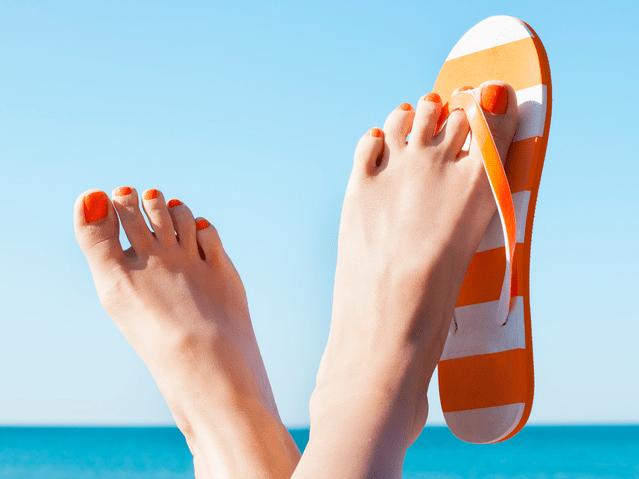 summer feet ready