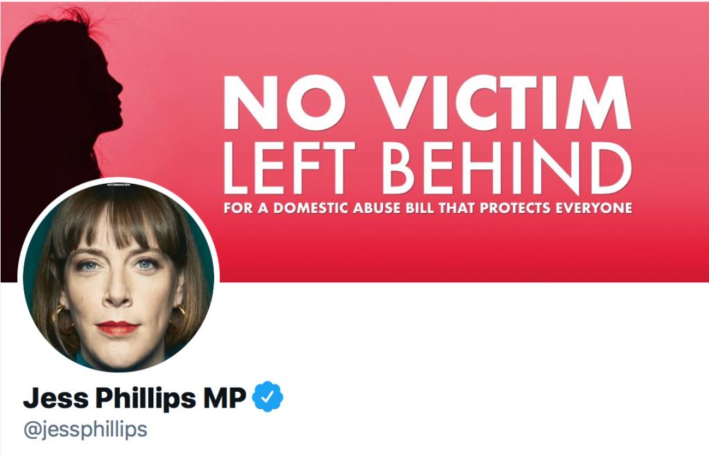 Jess Phillips MP Twitter banner